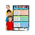 Tabla de Tareas magnética de Borrado En Seco Bordo de Etiqueta de La Pared Niños Planificador Semanal Lista de Cosas Por Hacer Tabla de Premios 60*40 Cm