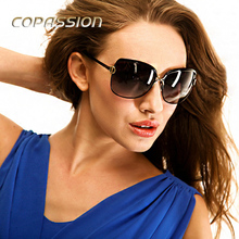 2017 polarized sunglasses women luxury brand driving glasses driver Metal Frame Goggles uv400 Eyewear oculos aviador