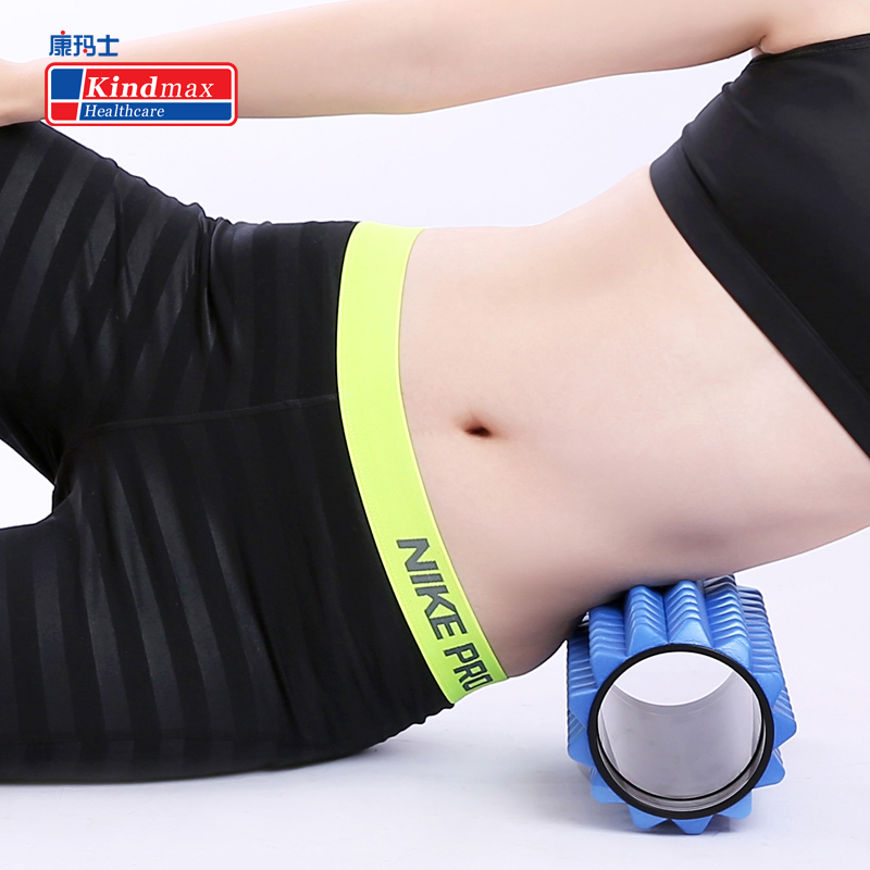 все цены на Kindmax Healthcare Spike Shaped Foam Roller 5 Colors Yoga Fitness Equipment Pilates Massage Roller Yoga Block онлайн