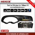 Завод точек 7 дюймов автомобиля dvd-плеер gps навигатор для brilliance-авто V5 поддержка магнитола atv ipod bluetooth gps-ipod карта подарок