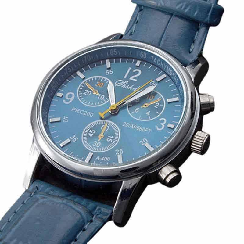 2019 Horloge Mannen Met Datum Top Brand Hoge Kwaliteit Luxe Fashion Business Leather Sport Quartz Relogio Masculino