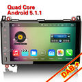 "Erisin ES4982B 9""Car Stereo GPS Player Android 5.1  A/B Class W169 W245 Vito Viano"