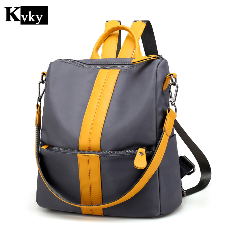2018 New Fashion Women Backpack High Quality Nylon Oxford Spinning Multifunction Big Bag Famous Designer Chain Shoulder Bag2018 New Fashion Women Backpack High Quality Nylon Oxford Spinning Multifunction Big Bag Famous Designer Chain Shoulder Bag