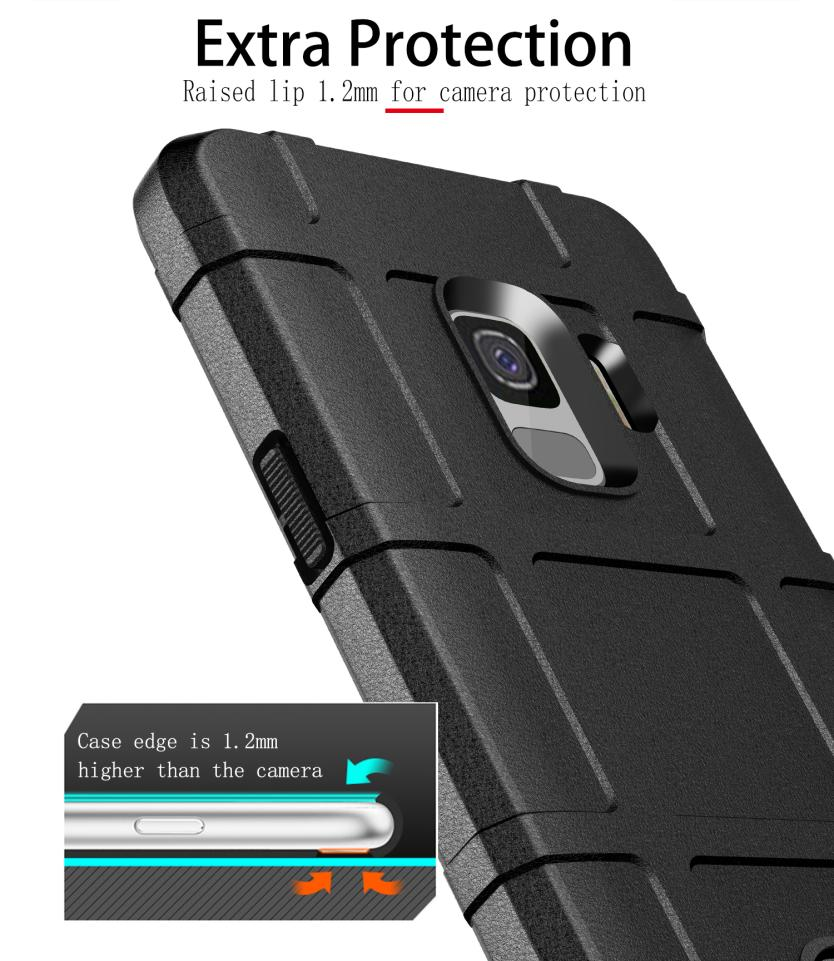For Samsung Galaxy S9 S9 Plus S8 S8 Plus Case Luxury Shockproof Soft Silicone TPU Shield Phone Protection Case Back Cover in Fitted Cases from Cellphones Telecommunications