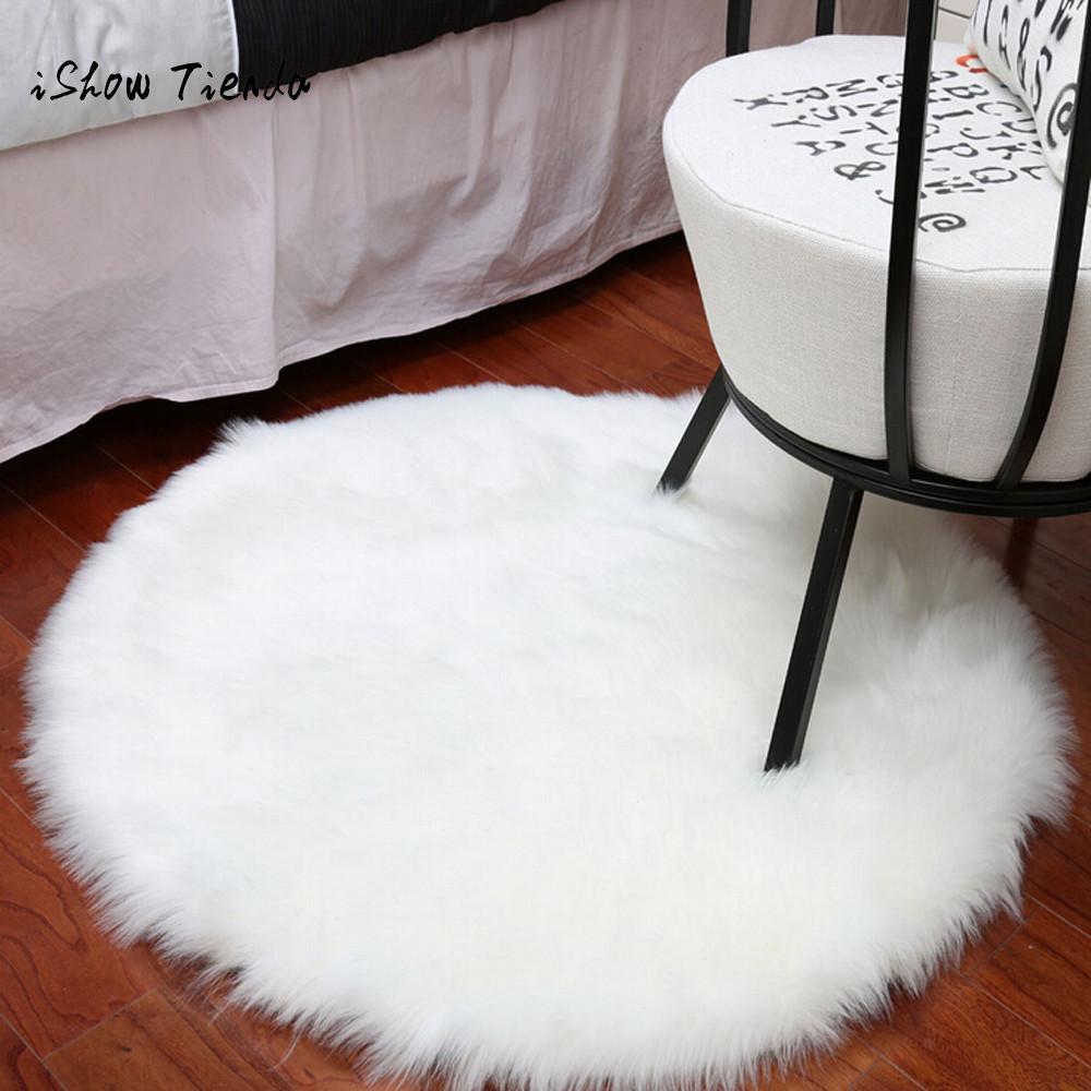 Us 675 21 Offmiękkie Sztuczne Dywan Z Owczej Skóry Krzesło Pokrywa Sztuczna Wełna Ciepły Włochaty Dywan 45 Cm Pad Pad Skóry Futro Obszar Dywaniki