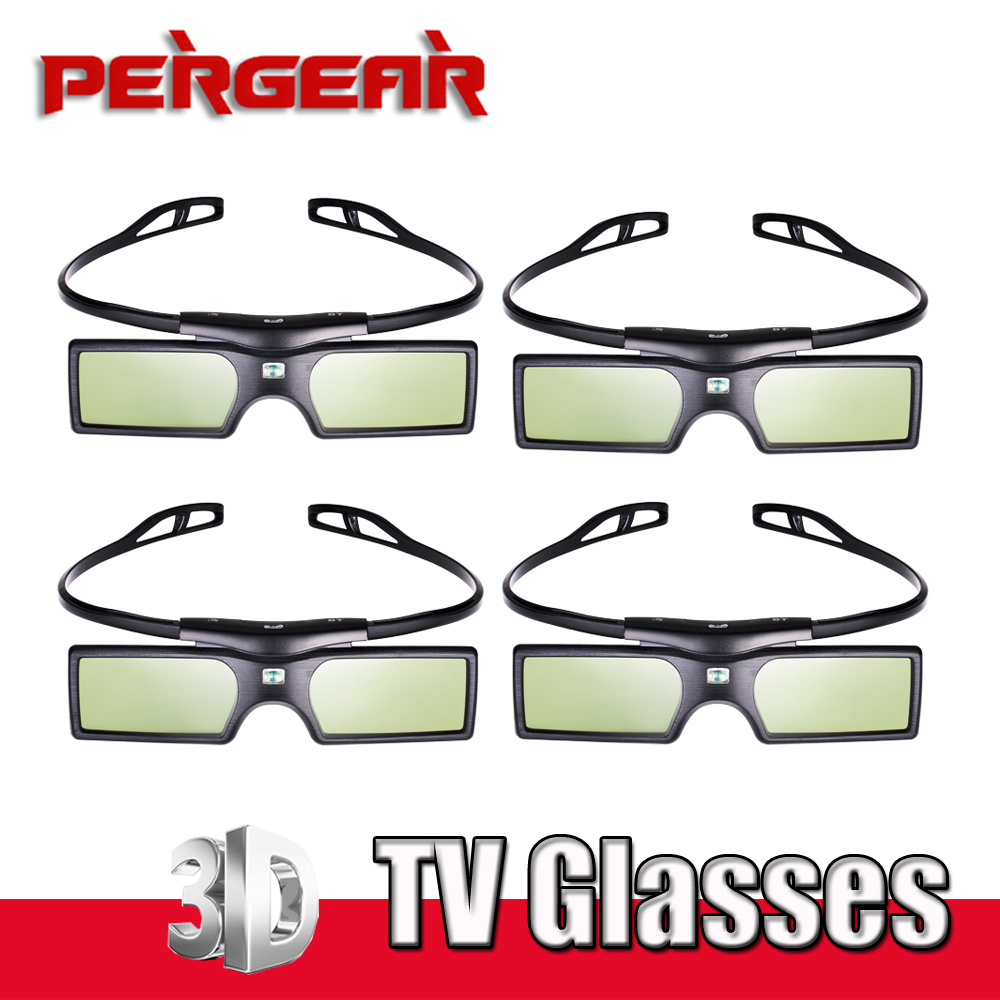 4pcs lot Bluetooth Active Shutter 3D TV Glasses Virtual Reality for Samsung Sony LG Panasonic TV
