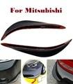 2x pvc coche jackknifed parachoques tiras de arañazos para mitsubishi ralliart evolution lancer lancer galant i i-miev carga minica