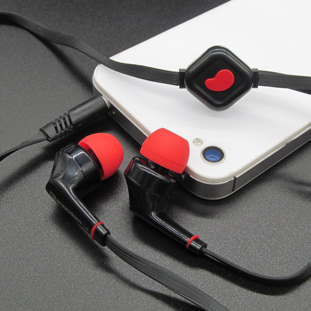 Original JD88 3.5mm In-Ear Earphone Super Bass Stereo Earphones With Microphone For Phones MP3 MP4 Computer