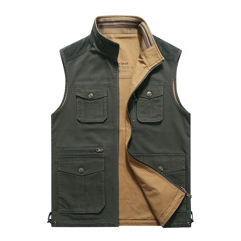 Spring Jacket Men Jaqueta Masculina Autumn Coat Men Double side Wear Men Jacket Pure Cotton Loose