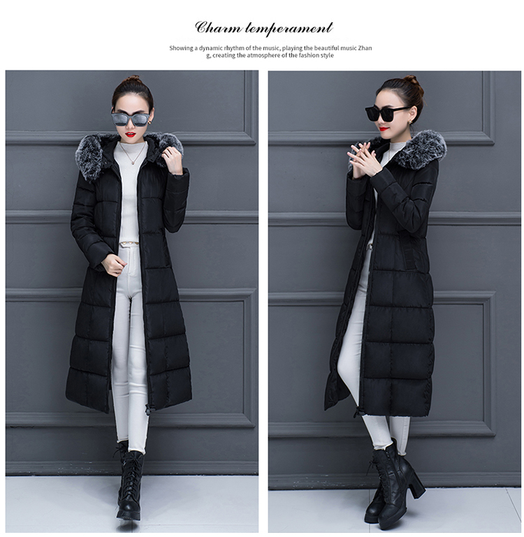 Parkas long Wadded for 23