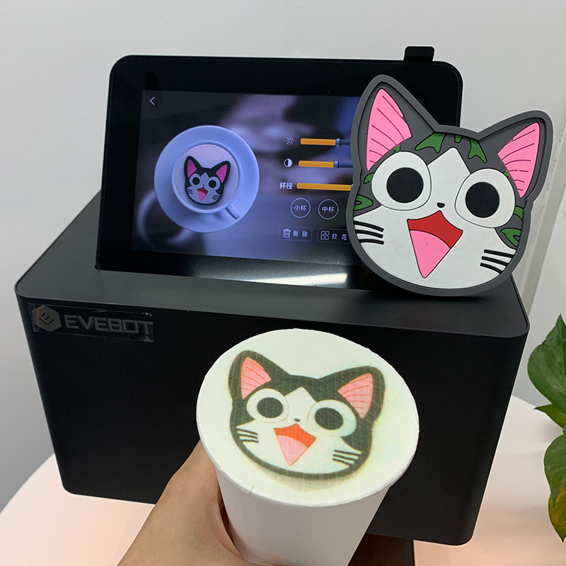 Food Printer For Cookies Edible Wifi Connection Printing Color Print