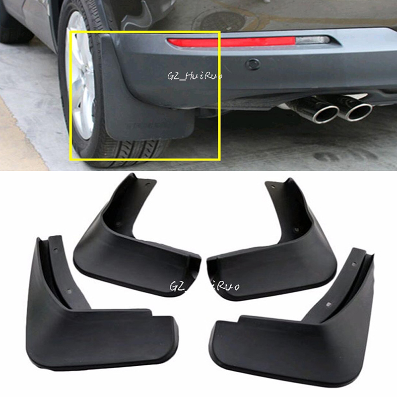 For VW Volkswagon <font><b>Tiguan</b></font> 2009 2010 2011 2012 <font><b>2013</b></font> 2014 2015 Mud Flaps Splash Guards Fender Mudguard 4pcs image