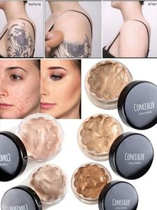 Concealer-Cream Tattoo Covering-Eye Makeup-Silky Dark-Circle Oil-Control Smooth-Texture