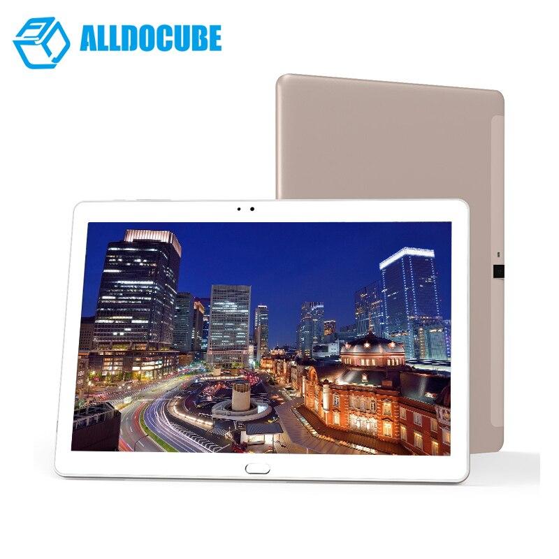 Alldocube Cube Gratuit Jeunes X7/t10 Plus Téléphone Tablette 10.1 pouce IPS 1920*1200 MT8783V-CT Octa Core Android 6.0 3 gb Ram 32 gb Rom