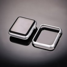 Luxury metal cover for apple watch case 42mm 38mm 44mm 40mm