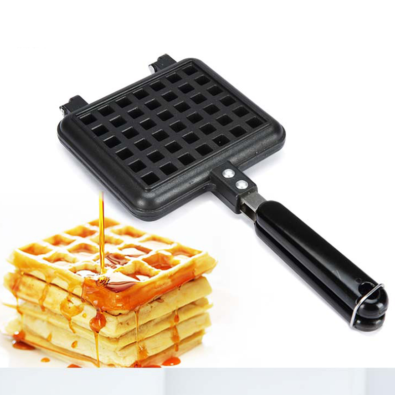 Top quality 1pcs waffle pan 2 grid nonstick mold bakeware for Top quality garden tools