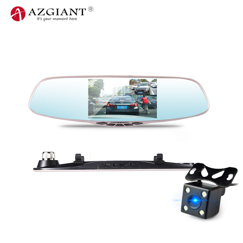 AZGIANT Car-Dvr-Camera 5inch-Screen Vedio-Recorder Dash-Cam ADAS Rear-View 1080P HD Novatek