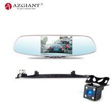 AZGIANT 5 дюймов Экран HD 1080 P Видеорегистраторы для автомобилей Камера с заднего вида Новатэк 96658 F2.0 Vedio Регистраторы ADAS петли Запись регистраторы