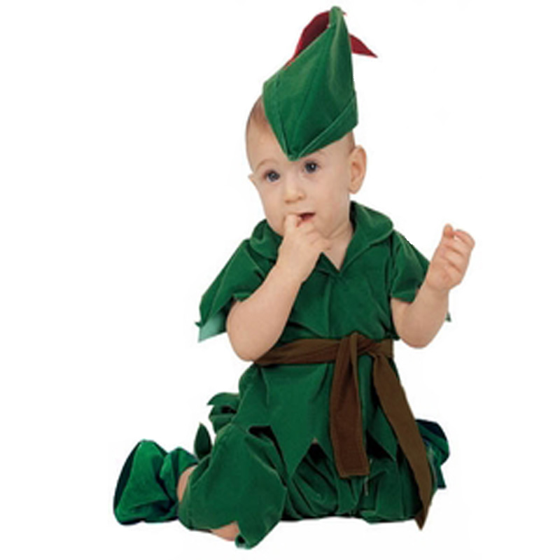 Infant Halloween Costume | Baby Peter Pan Costume Infant Halloween Costume