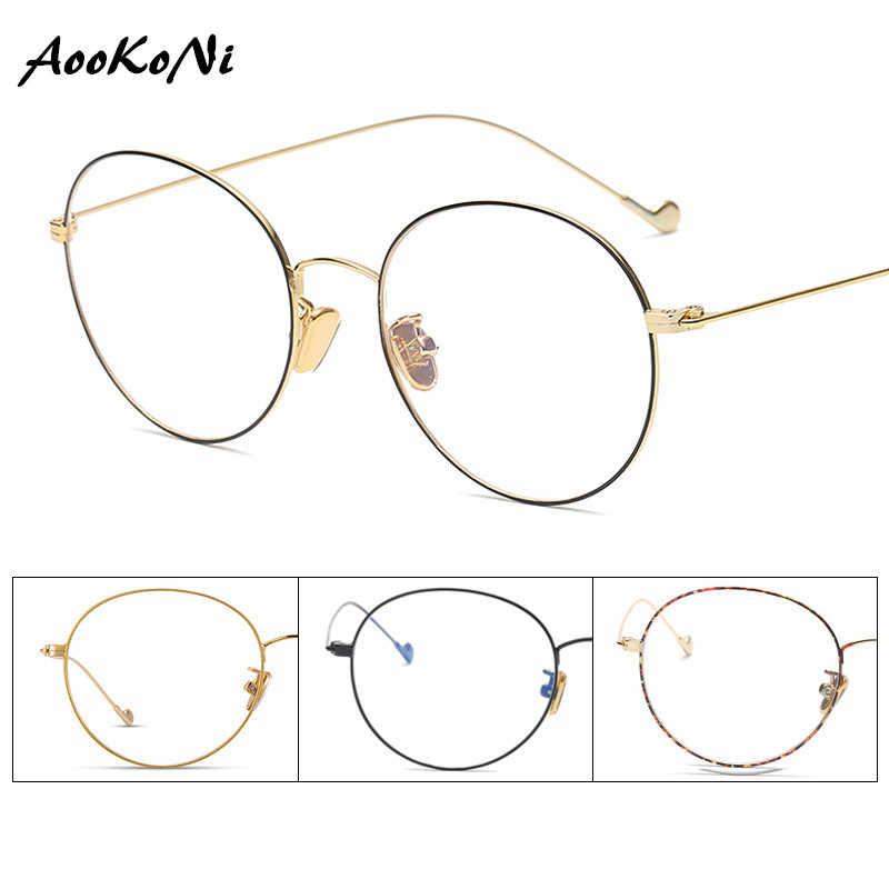 3bb3ac0757 Gafas graduadas para estudiantes gafas para mujeres ultraligeras 2019 Retro  redonda miopía óptica Dinamarca gafas coreanas
