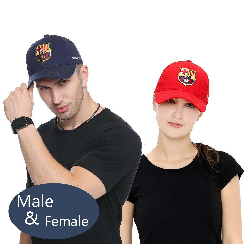 ddada780e98 2018 Cotton Baseball Caps High Quality World Cup Barcelona Team Hat ...