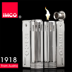 Image 2 - Classical Genuine IMCO Petrol Lighter General Lighter Original Oil Gasoline Cigarette Gas Torch Lighter Cigar Fire Pure Copper