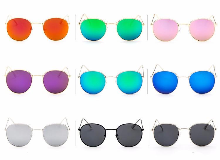 HTB18IM2KVXXXXcmaXXXq6xXFXXXH - Round Sunglasses Women Retro Brand Designer Classic Rose Gold Steampunk Sun Glasses Men UV400 Rayed Mirror Female UV400