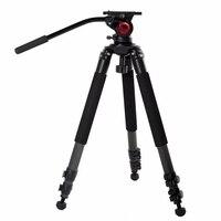 Milibo углеродное волокно штатив монопод для профессионалов цифровой dslr камера видеокамера Тяжелая емкость Стенд штатив максимальная высота