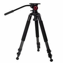 цена на milibo Carbon Fiber tripod monopod for professional digital dslr camera  camcoder  heavy capacity stand tripod Max Height 170cm