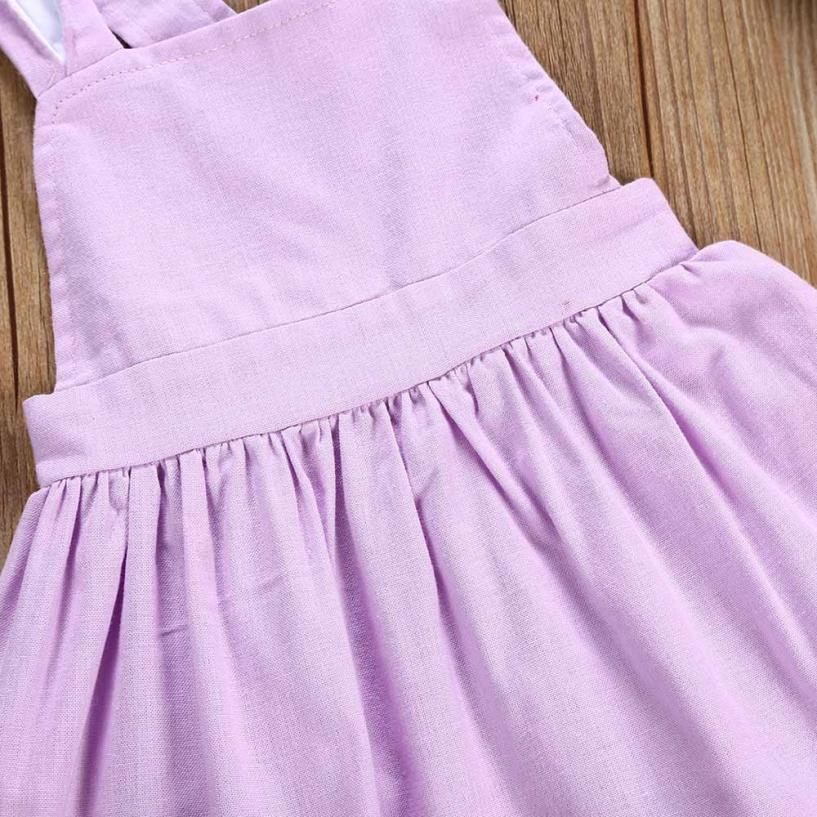 6faeca518102 2018 new clothing Infant Baby Girls Cute Easter Clothes Rabbit Ear ...