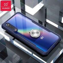 Xundd Voor Xiaomi Mi 9 Case Cover Mi 9 Magnetische Autohouder Stand Vinger Ring Clear Tpu Back Cover Voor xiaomi Mi 9 Mi9 Case