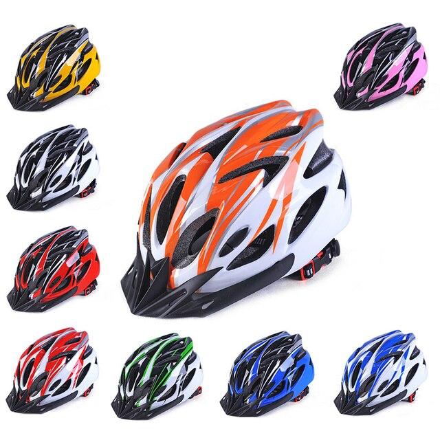 Шлем для езды на велосипеде на ховерборде унисекс MTB дорожный шлем для защиты велосипедного шлема Регулируемый 57-62 см цветной шлем