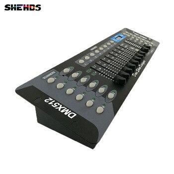Envío Gratis nuevo 192 controlador DMX DJ equipamiento DMX 512 consola de iluminación para escenario para LED Par se reflectores con cabeza de rotación DJ regulada