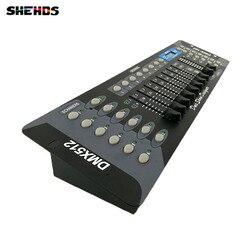 Envío Gratis nuevo 192 controlador DMX DJ equipo DMX 512 consola escenario iluminación para LED Par movimiento reflectores con cabeza de rotación DJ control