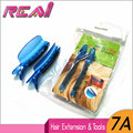Free Shipping( 2 Pieces/Bag ) Blue Color Plastic Easy Speed Separator Clips Section Clips For Hair Extensions Installation