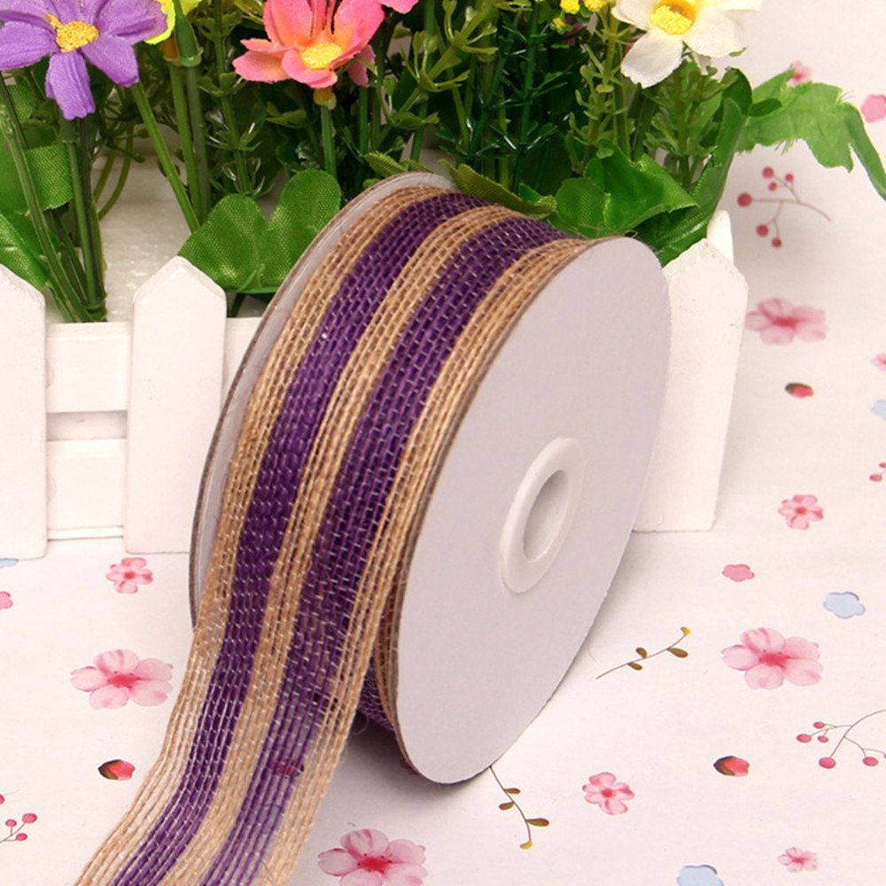 Buy Purple Burlap Ribbon And Get Free Shipping On AliExpress