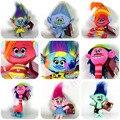 6 Styles 30CM Trolls Plush Dolls anime Fairy Hair Wizard Blanche Bobbi Poppy Magic elf Stuffed Dreamworks Dream Village kids