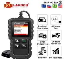 Launch X431 CR3001 OBD2 автомобильный считыватель кодов поддержка полного OBDII/EOBD launch Creader 3001 CR3001 Авто OBD 2 сканер PK AD310 ELM327