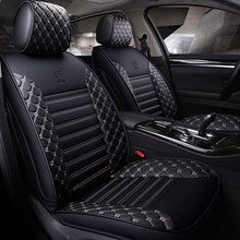 pu leather car seat covers universal auto seat protector mat for Jeep grand cherokee compass commander renegade wrangler patriot