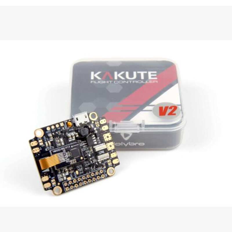 Holybro Kakute F4 All-In-One V2 flight controller Control STM32 F405 Supports Betaflight Cleanflight OSD PDB Board for FPV Drone asgard v2 all in one flight controller for helicopters asgard v2