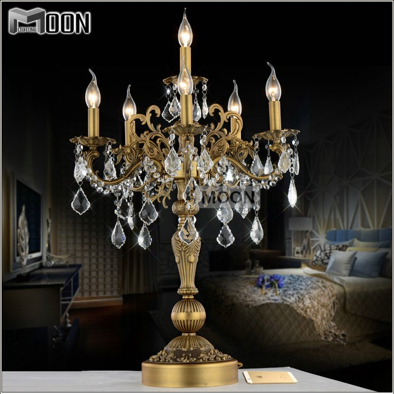 Crystal Chandelier Table Lamps For Sale: 2015 Sale Abajur Para Quarto Table Lamps For Living Room