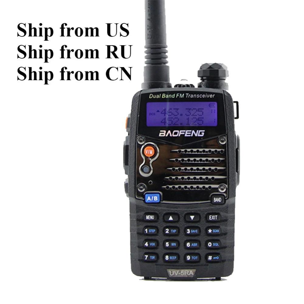 Verzenden vanuit RU / VS / CN! Baofeng UV-5RA UV dual-band 136-174 MHz en 400-520 MHz tweezijdige radio