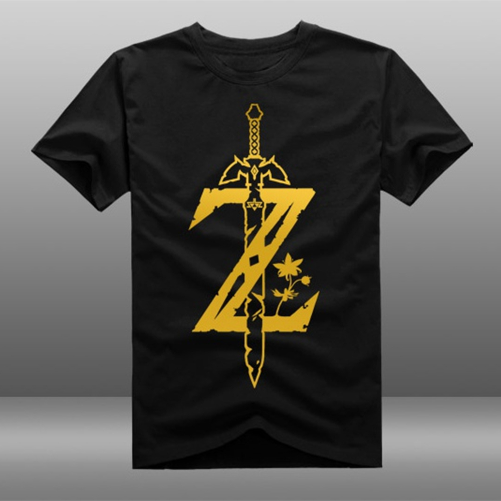 The Legend of Zelda T Shirt Breath of the Wild Cosplay Casual T-shirt Tee