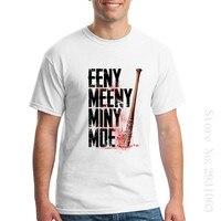 Eeny Meeny Miny Moe Shorts Shirt O Neck Homem Super Mario Movie T Shirts Low Price