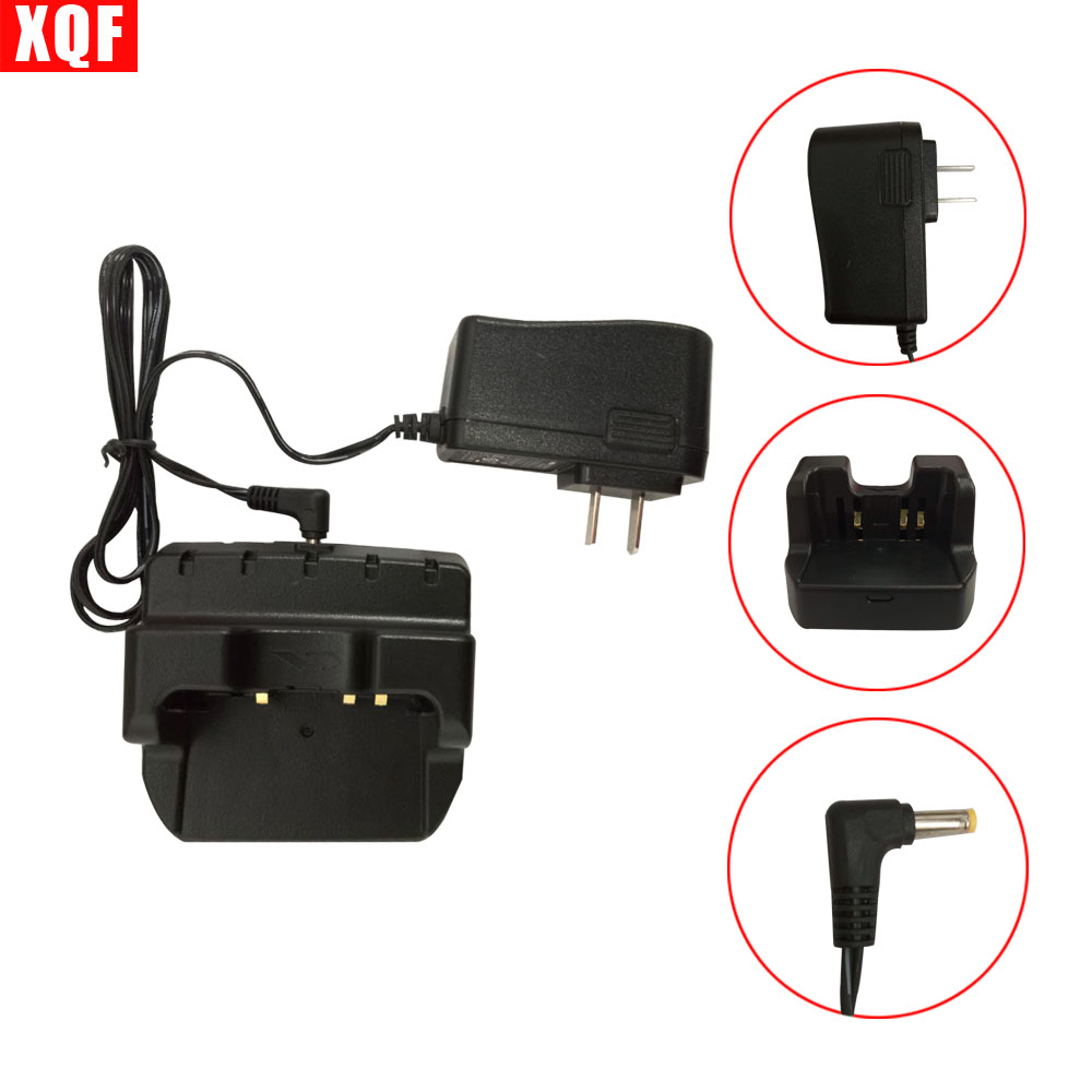 XQF 10PCS  CD-41 Desktop Rapid Charger For Yaesu VX-8R VX-8DR FT1DR Radio