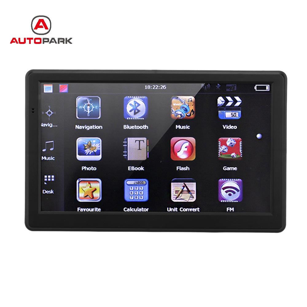 Gps Navigation For Cars : Inch hd car truck gps navigator touch screen portable