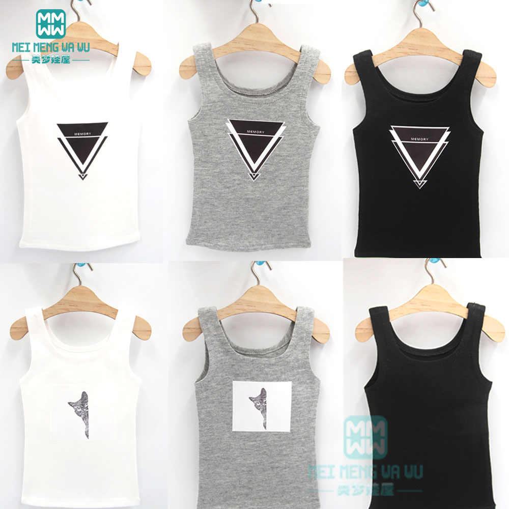 1/3 BJD Pop Kleding Tank Top voor DD SD Pop Vest Casual Outfit