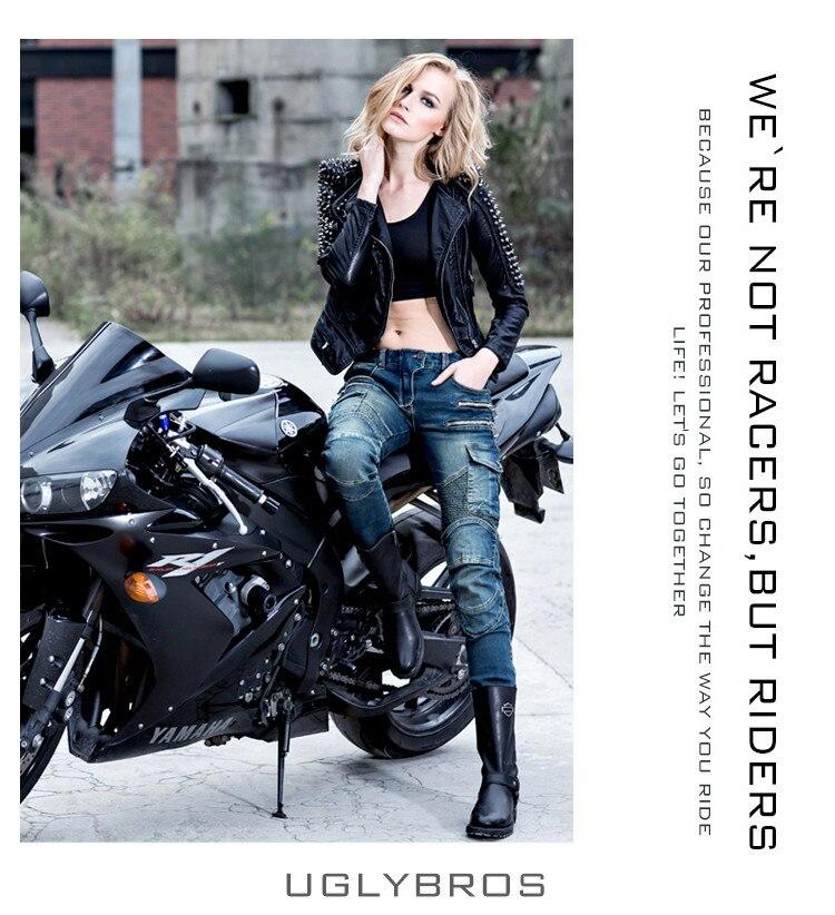La más nueva moda recto blue jeans tamaño 25 26 27 uglybros - Accesorios y repuestos para motocicletas - foto 3