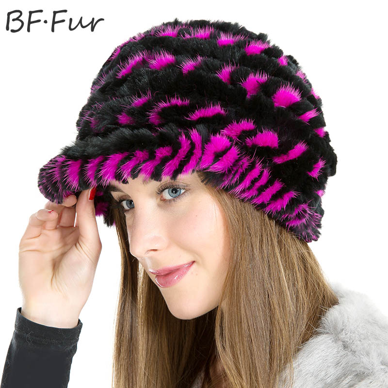 Real Mink Fur Beanies Adult Hats For Women Natural Color Winter Warm Bonnet Casual Female Knitted Paisley Animal Fur Winter hats russian real mink fur hat for female animal fur winter warm beanies fashion solid color cap natural color bonnet girls hats