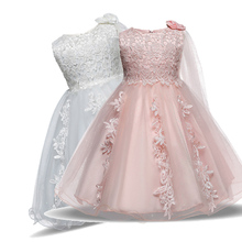 My 1 Year Girl Baby Birthday Dress Baby Girl Clothing Princess Infant Dresses for Girls Baptism Christening Gown Dress For Baby